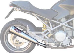 Silencieux Racing Steel MONSTER Inox Coniques Embout Ø110