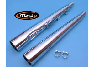 Silencieux Marvi GSX 250 Chromés