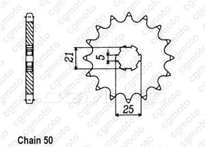 Pignon Xs 250 Se 80-82