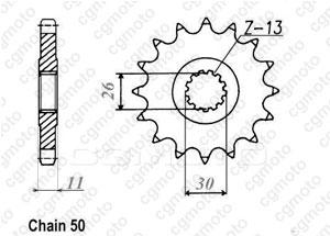 Pignon Rd 500 Lc 84-87