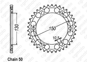 Couronne Xjr 1300 99-01