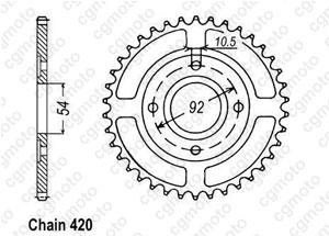 Couronne Tzr50 / Power50 97-