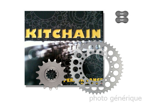 Kit chaine Yamaha 80 Yz Grandes Roues