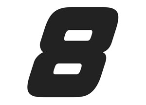 Numero 8 noir