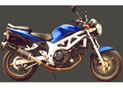 Silencieux Superline SV 650 1999/2002 Big Oval Carbone