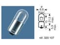 BOITE 10 ampoules 12V-4W / TEMOINS CULOT BA9S
