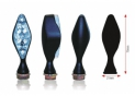 Clignotants BIHR Losange LED noir universel