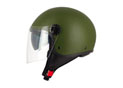 DemiJet S706 double visiére Green Army