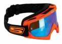 Masque Cross ECO Orange fluo