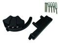 Kit Protection de Carters CNC Anodisés Noir MT-07 2014-2016 Gauche et Droit